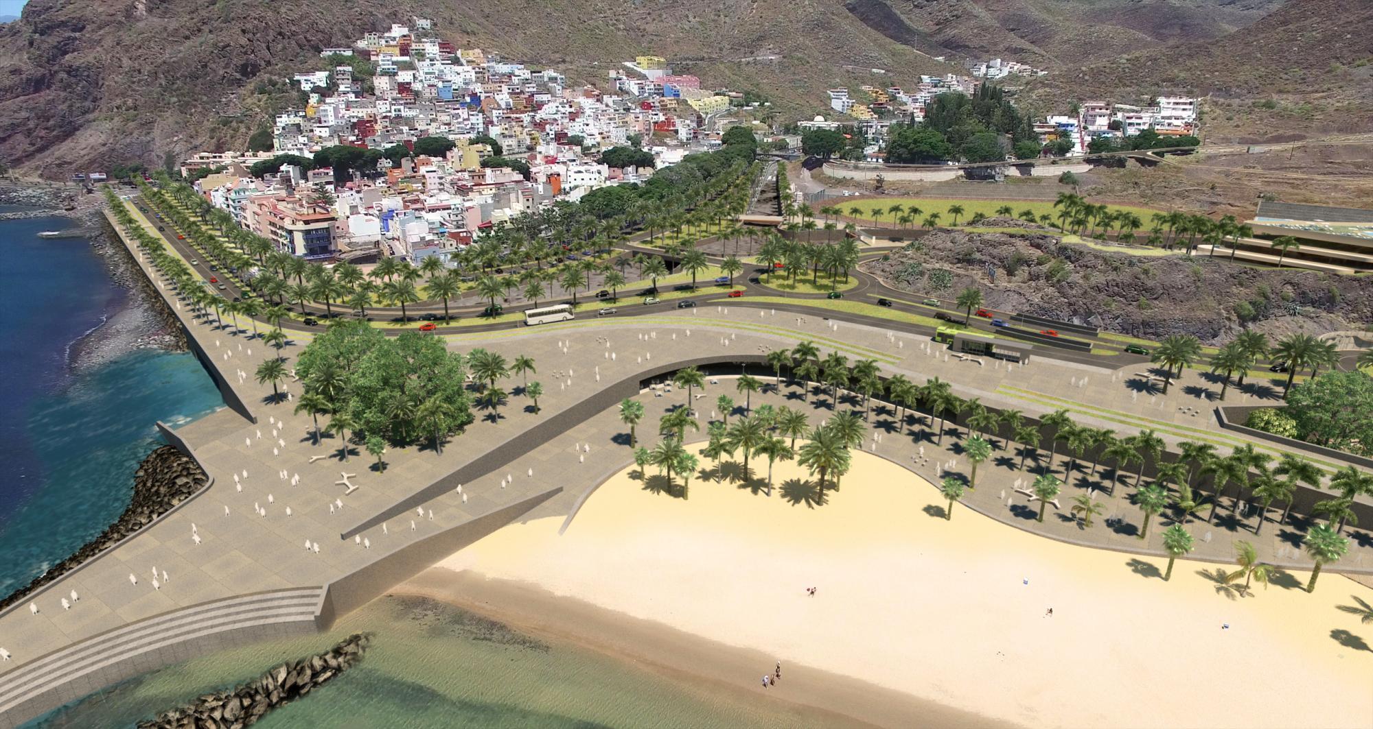 PE Frente Playa Teresitas